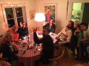Get together med amerikanska bocken-fansen John och Aileen