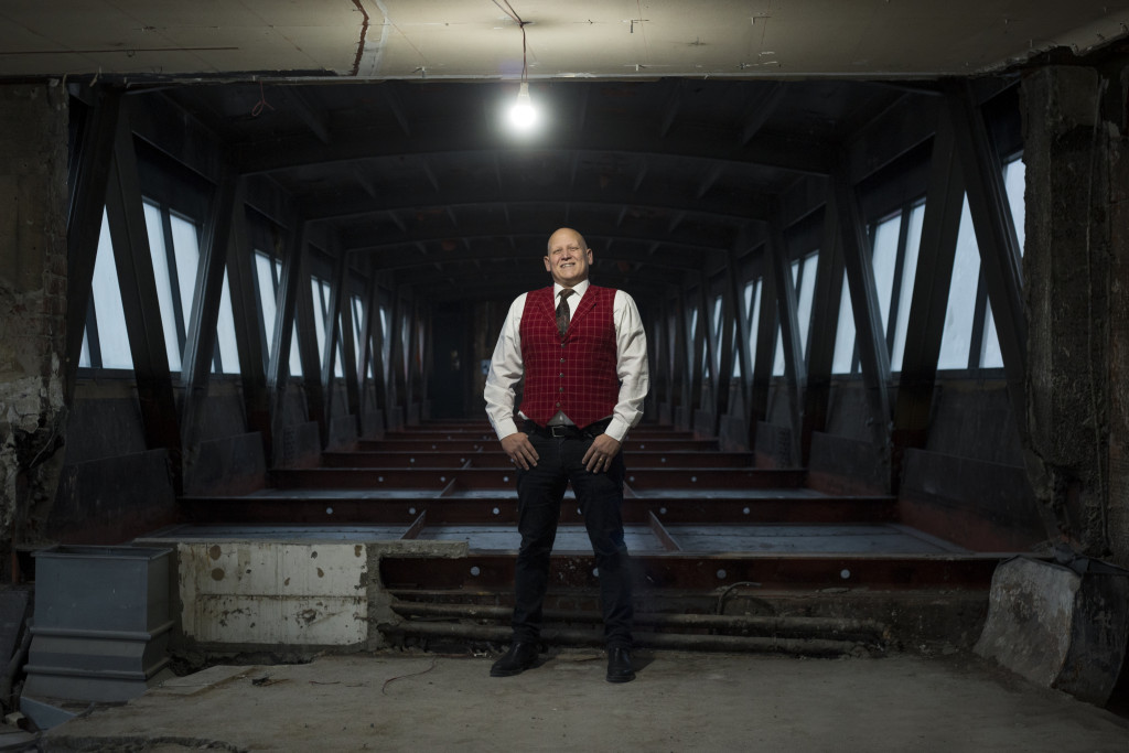 Jakob Kroner i Gondolen, liggande. Foto Klara Furegård