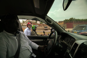 Jens Lapidus. Kigali, Rwanda. Foto: Sebastian Lejon.