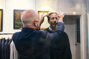 Paul Buckle, anställd på Thresher&Glenny med Jens Lapidus. Middle Tempel, London. Foto: Hans-Erik Therus.